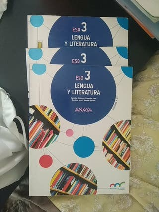 libro de 3°eso de lengua y literatura