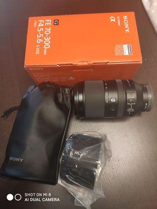Objetivo Sony FE 70-300 G OSS NUEVO