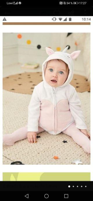 Disfraz unicornio bebe