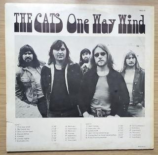 Disco de Vinilo The Cats One Way Wind