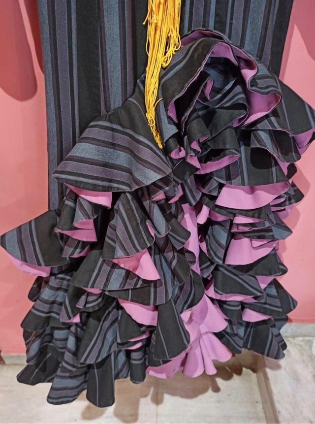 Traje flamenca tipo baile
