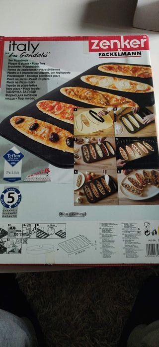 Molde mini pizzas