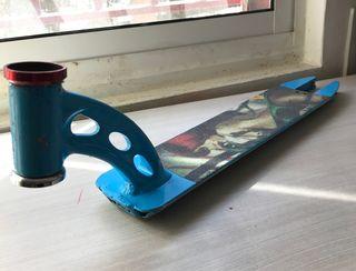 Tabla scooter MGP