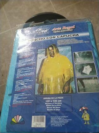 ponchos con capucha impermeable