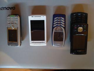 moviles retro Nokia, Sony