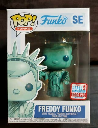 Freddy Funko Statue of Liberty 6000 Pieces