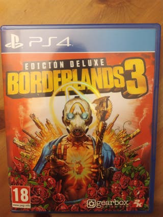 Borderlands 3 Deluxe PS4