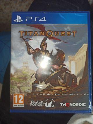 TitanQuest PRECINTANDO NUEVO PS4