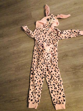 Mono pijama disfraz conejo talla 6/8 nuevo