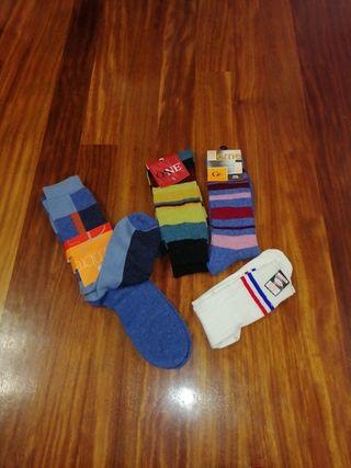 5 pares calcetines de chico talla 40-44