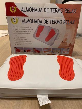 almohada de termo relax