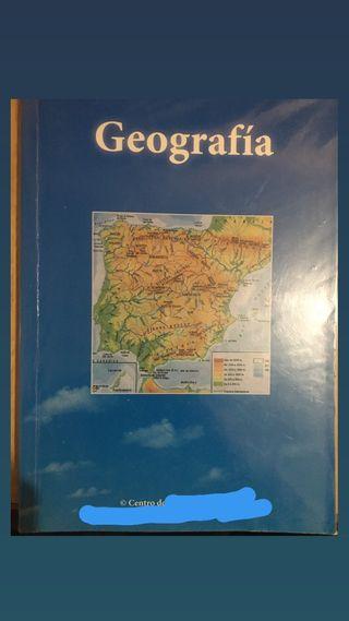 Libro Geografía Prueba Acceso Grado Superior