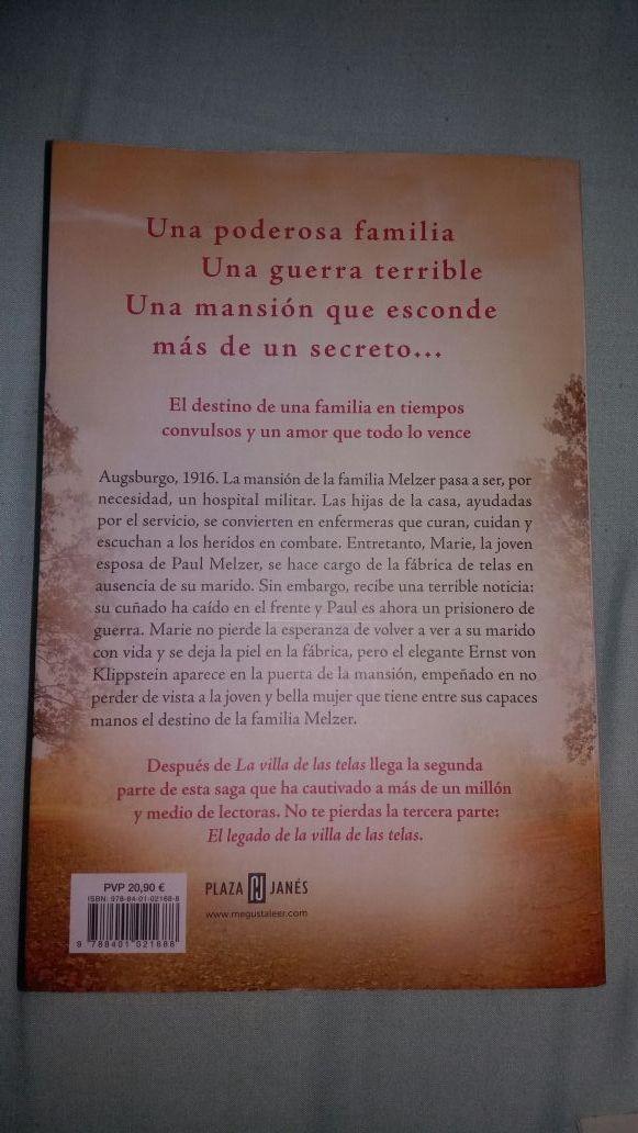 Trilogía La Villa de las Telas. ENVÍO GRATIS.