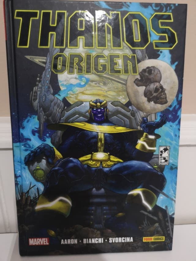 Thanos Origen Panini Tomo HC Marvel