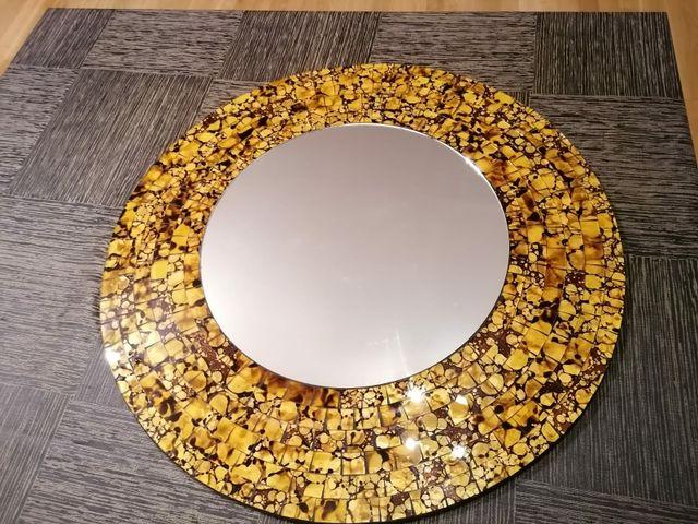 Espejo redondo de pared 50 cm de diàmetro