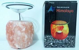 Portavelas de sal de Himalaya
