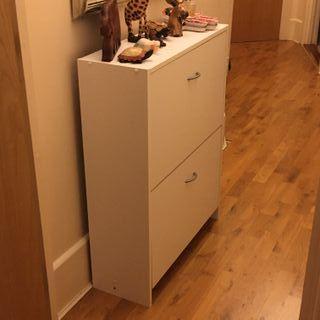 Shoe cabinet. Pimlico