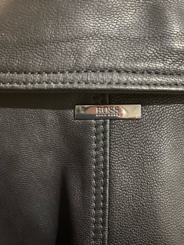 Hugo Boss Leather Jacket