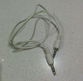 Cable doble macho Jack 3,5mm