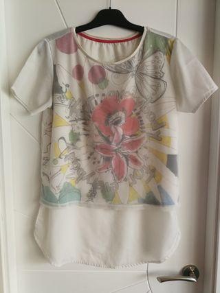 Camiseta Desigual talla L