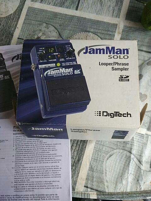 Pedal Looper JamMan Solo SD