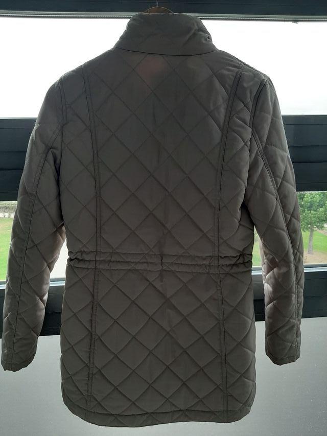 abrigo beige Cortefiel