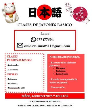 Estudiante da Clases Particulares de Japonés
