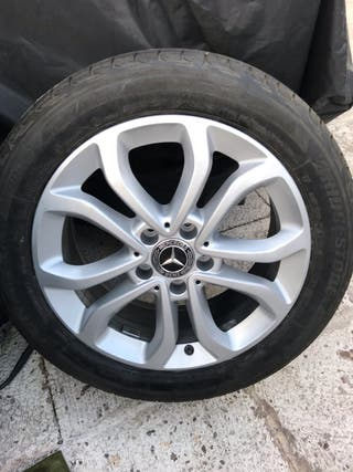 Llantas Mercedes 17 Originales+neumáticos