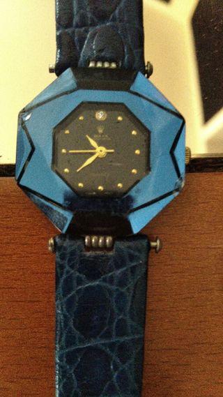 reloj azul de mujer rolex