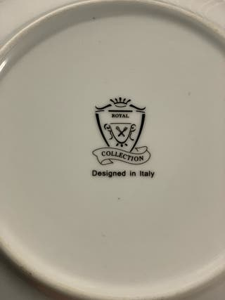 Royal collection plates