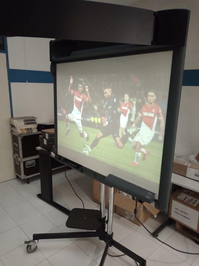 Proyector y pantalla 3M Wall display