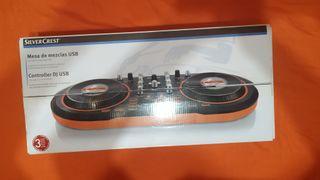 Mesa de Mezclas USB - Silvercrest