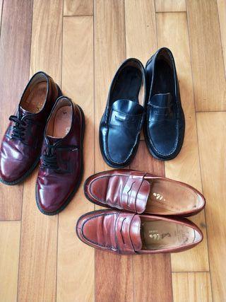 Lote zapatos lujo y.40