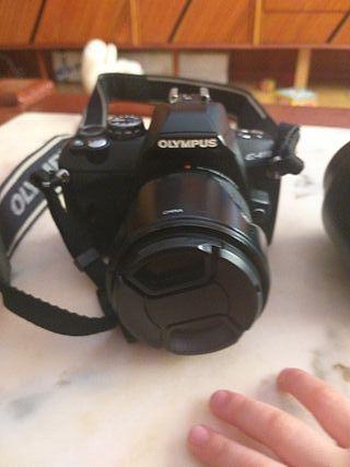 cámara réflex olimpus 410