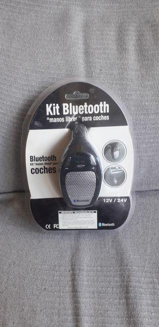 """Kit Bluetooth """"manos libres"""" para coches."""