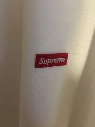 Supreme small box logo tee