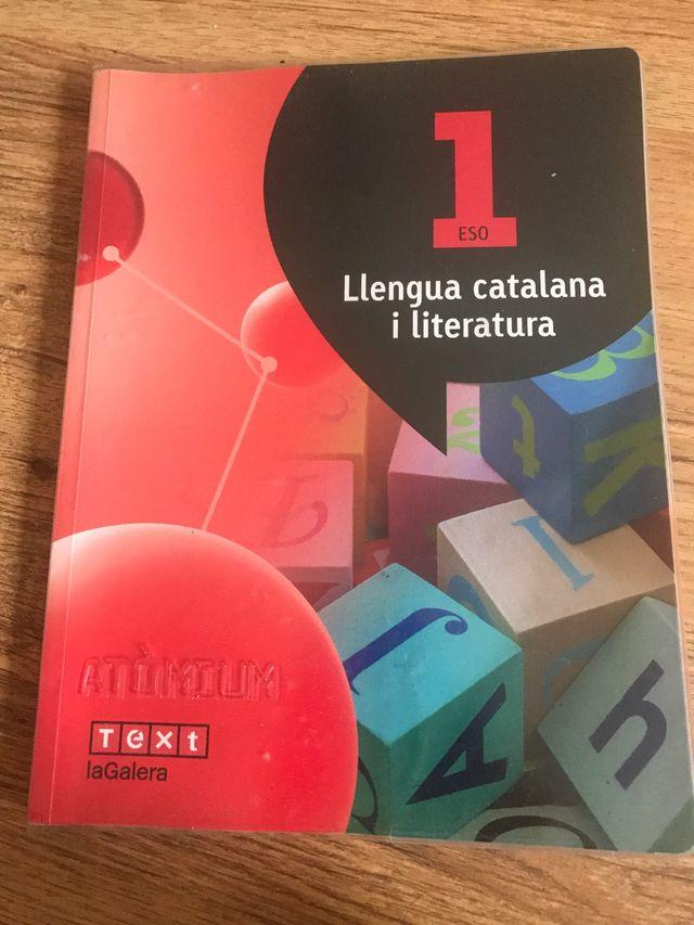 Libro de lengua catalana y literatura 1ero ESO