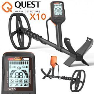 Detector de metales QUEST X10