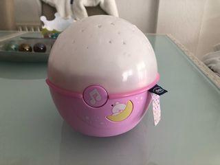 Proyector estrellas bebé Chicco rosa