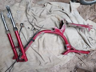 Chasis y suspension Puch X10