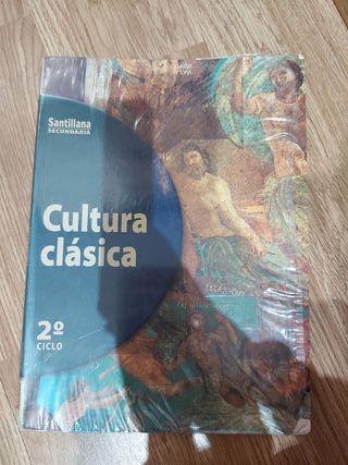 Vendo libro Cultura Clásica para Secundaria.
