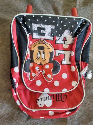 mochila Minnie mouse y hello Kitty