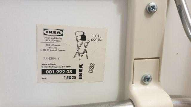 Taburete alto plegable Ikea Franklin