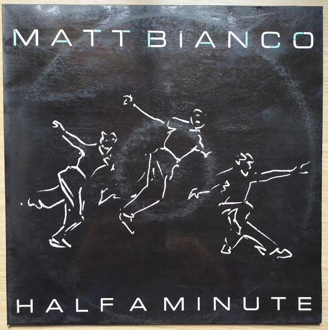 Disco Vinilo MAXI PROMO Matt Bianco Half A Minute