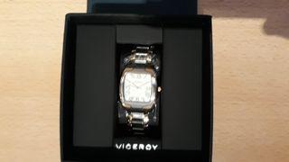Reloj de pulsera Viceroy con detalles dorados