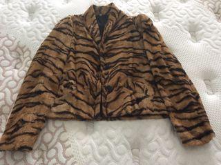 Chaquetilla leopardo vintage