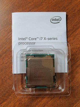 Procesador Intel I7-7820X 3,6/4,5 Ghz