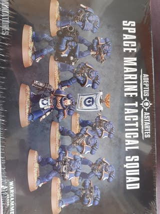 """Warhammer """"space marine tactical squad"""""""