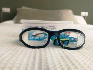 Gafas de natación nuevas