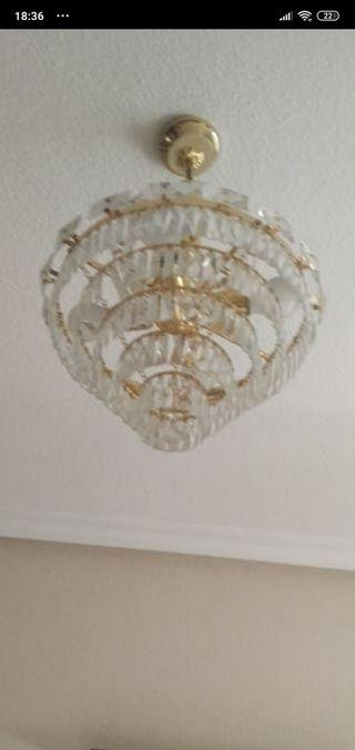 lámpara perfecto estado de cristales el dorado per